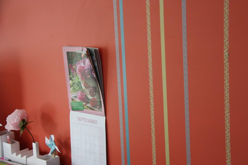 masking tape mur
