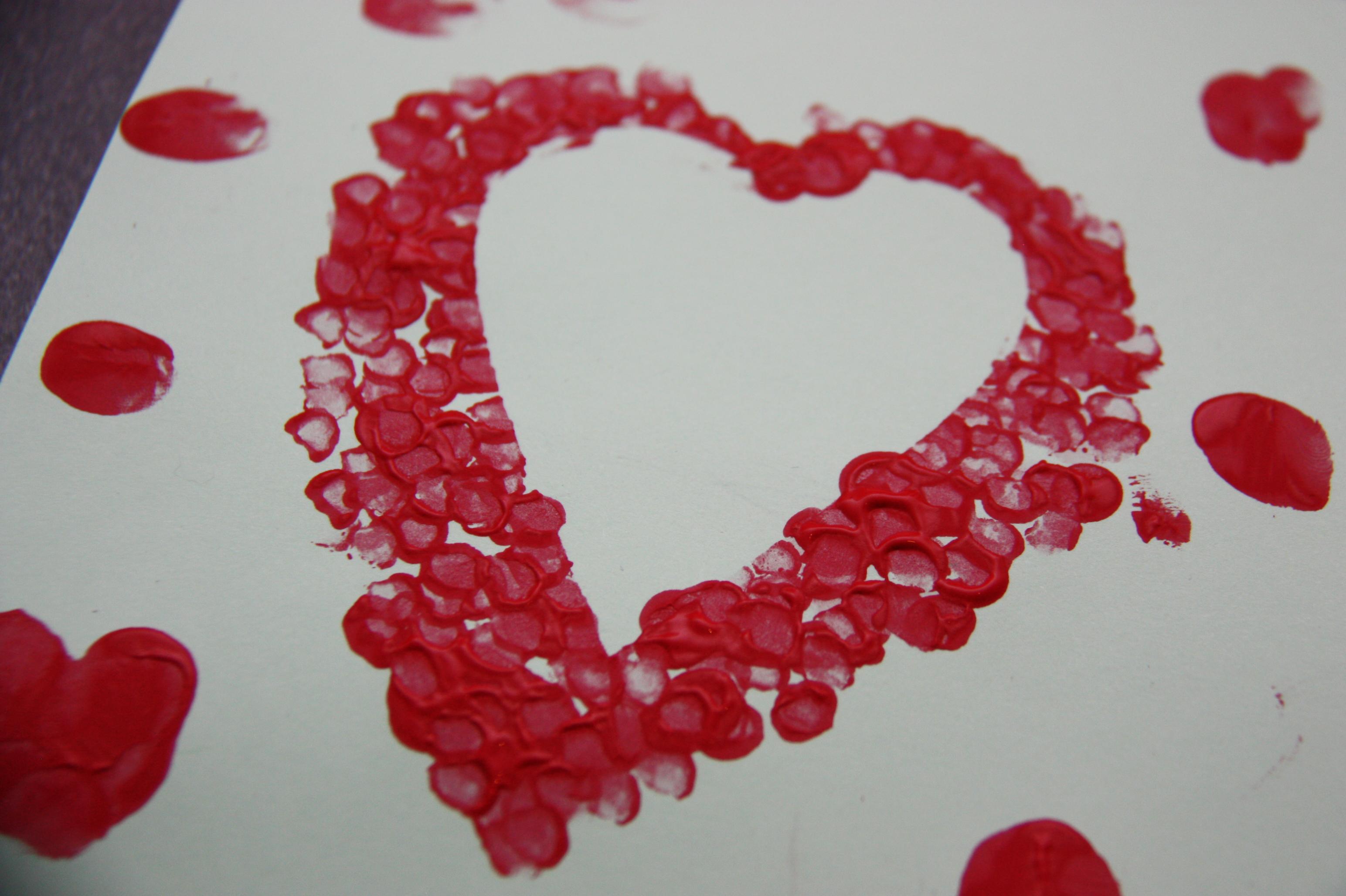 Un coeur pour la saint valentin gwenadeco - Coeur st valentin ...