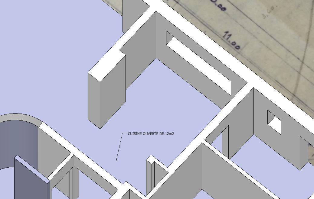 Comment agrandir sa cuisine et en faire un espace ouvert for Cuisine ouverte 3m2