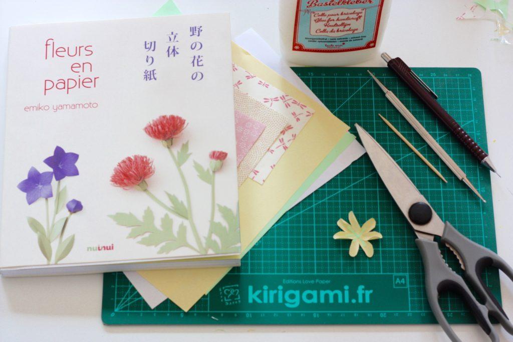 gwenadeco cadre fleurs en papier pastel 2
