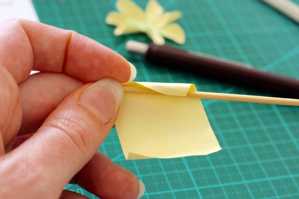 gwenadeco cadre fleurs en papier pastel 3