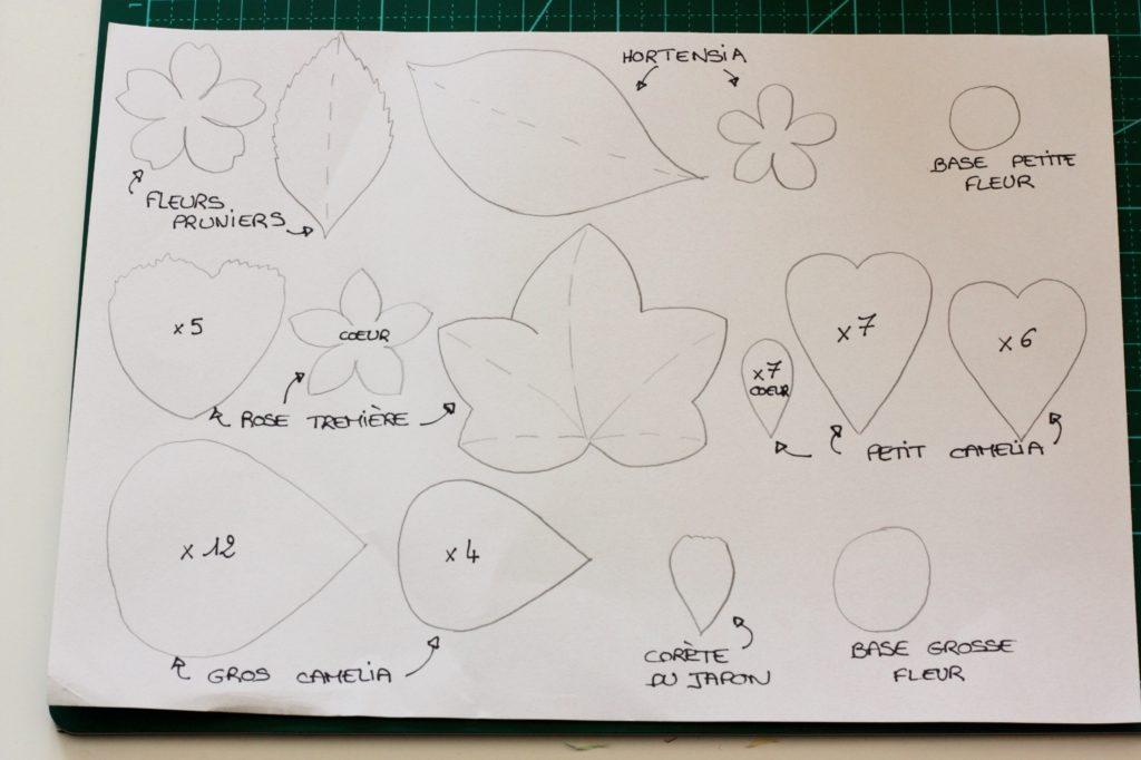 gwenadeco cadre fleurs en papier pastel 5