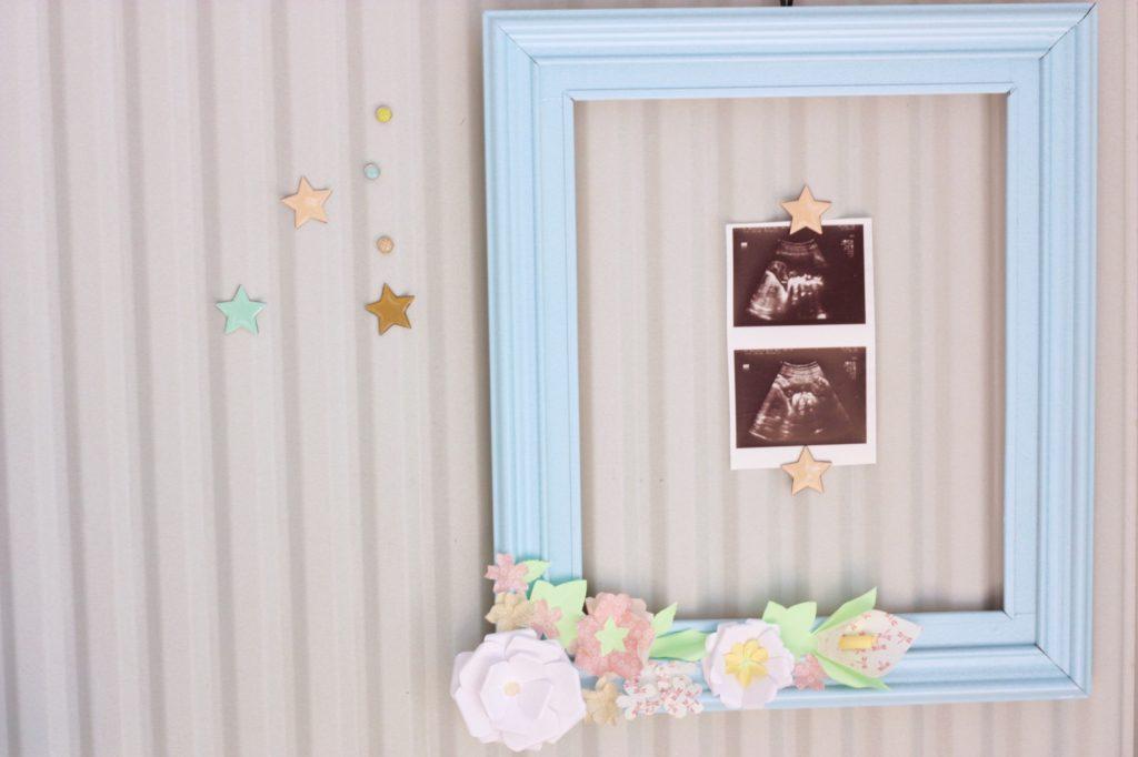 gwenadeco cadre fleurs en papier pastel 7