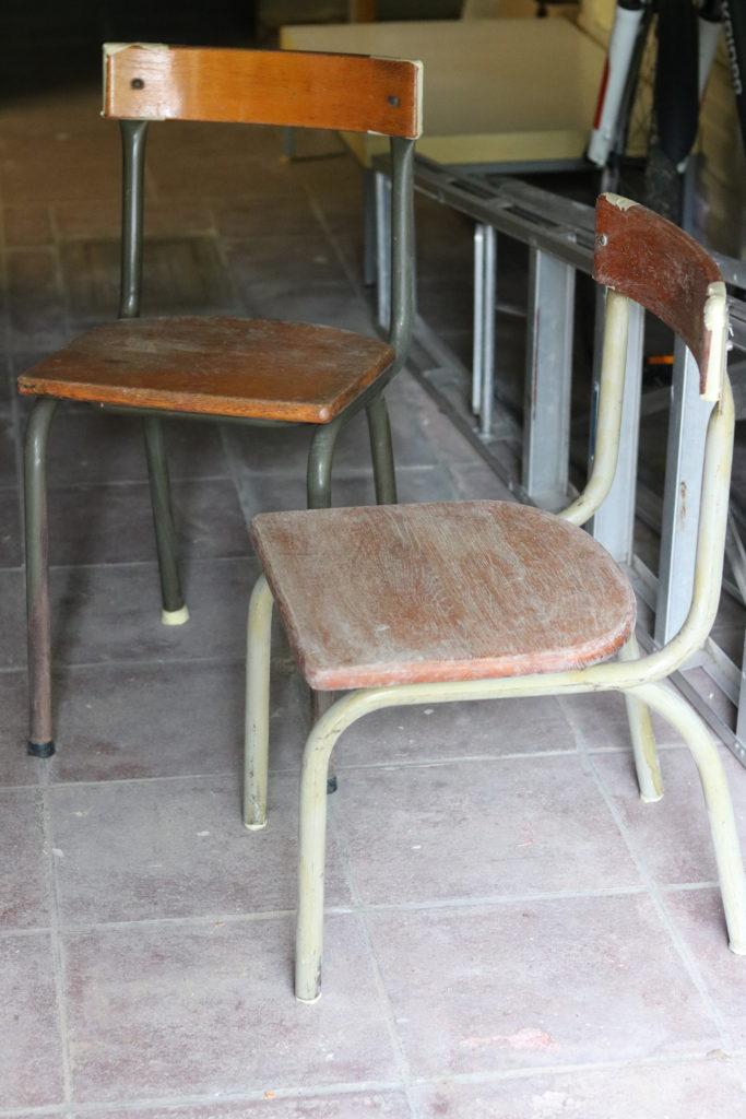 gwenadeco relooking chaise d'école